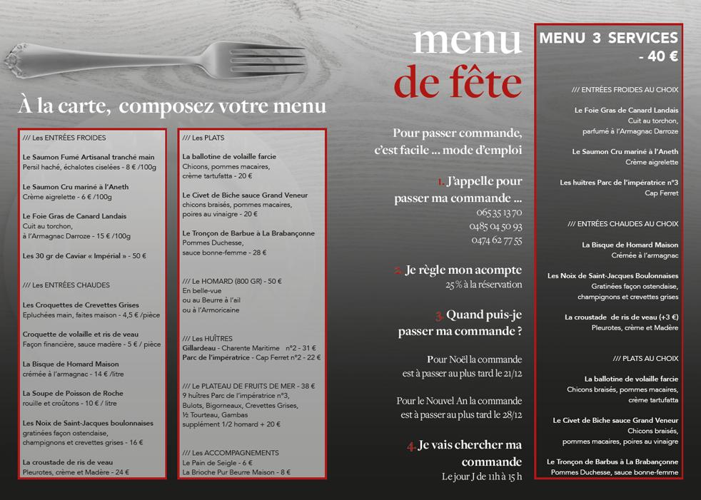 No l la table du boucher table et chaises - Restaurant la table du boucher lille ...